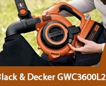 Black & Decker GWC3600L20
